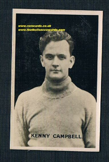 1921 Kenny Campbell Partick Adv soFBF